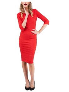 Jane Norman Jersey Pencil Dress