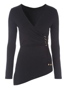 D-Ring Asymmetric Wrap Jersey