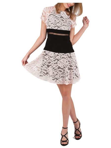 Jane Norman Lace Skater Dress