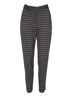 Bonded Lace Cigarette Trouser