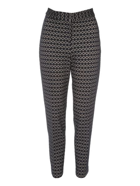 Jane Norman Bonded Lace Cigarette Trouser