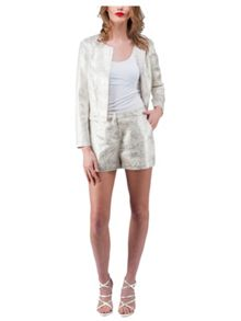 Jane Norman Metallic Shorts