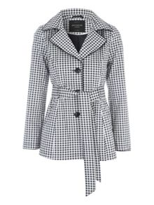 Jane Norman Gingham Mac Jacket