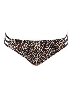 Leopard Print Animal Bikini Brief