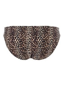 Jane Norman Leopard Print Animal Bikini Brief