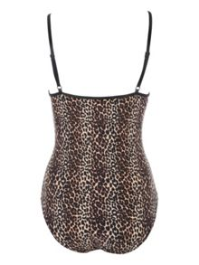 Jane Norman Leopard Print Animal Swimsuit
