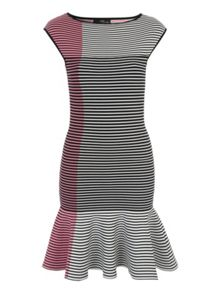 Jane Norman Stripe Jumper Dress