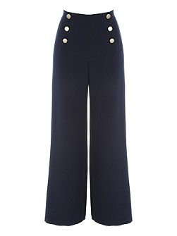 Sailor Button Trouser