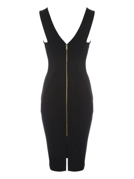 Jane Norman Chain Detail Midi Dress
