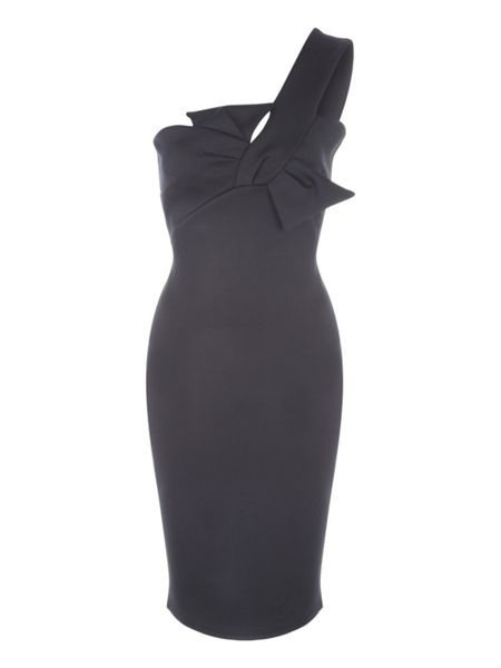 Jane Norman Bow Detail Dress