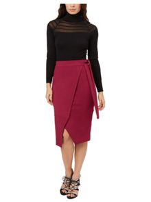 Jane Norman Wrap Skirt