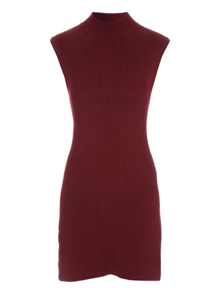 Jane Norman Sleeveless Side Split Jumper