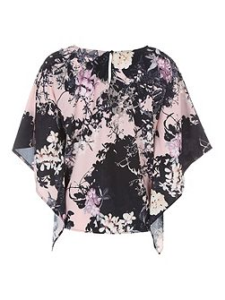 Big Chill Print Blouse Top