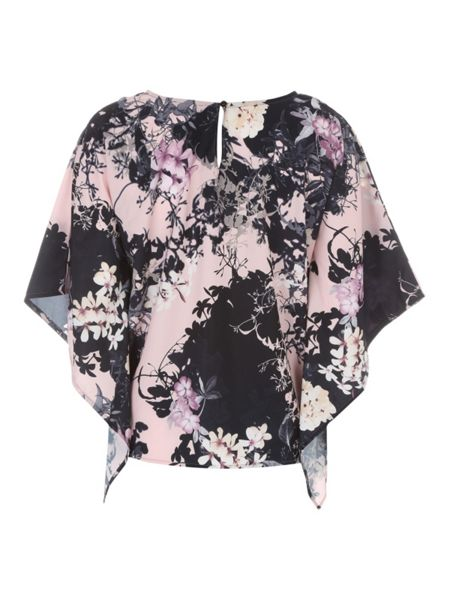 Jane Norman Big Chill Print Blouse Top