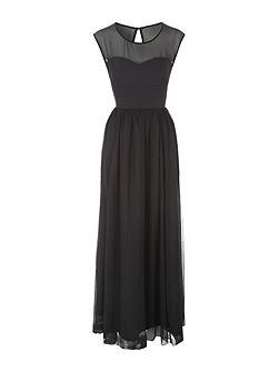 Jane Norman Black Maxi Dress