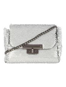 Jane Norman Sequin Across Body Bag