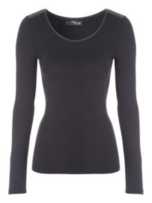 Jane Norman Scoop top