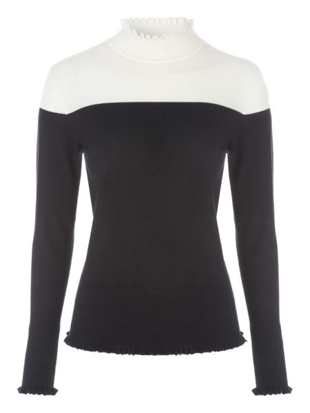 Jane Norman Frill Jumper