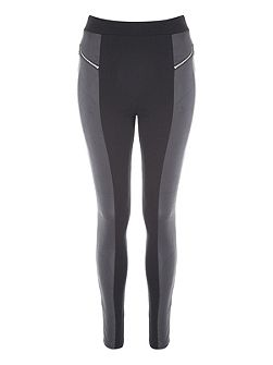 Zip Panel Leggings