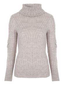 Jane Norman Twist Sleeve Jumper