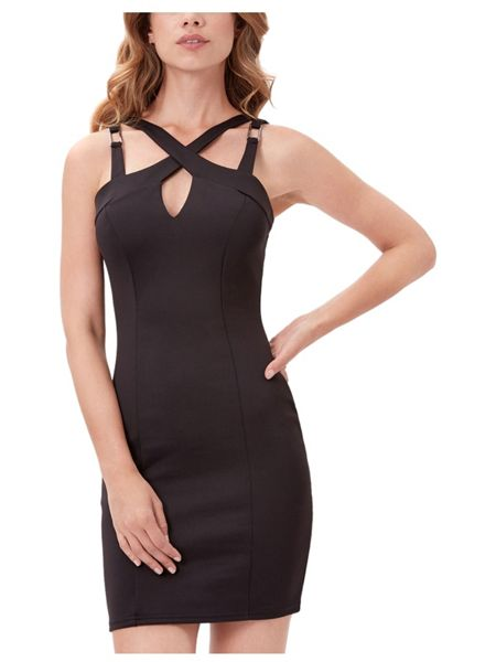 Jane Norman Cage Bodycon Midi Dress