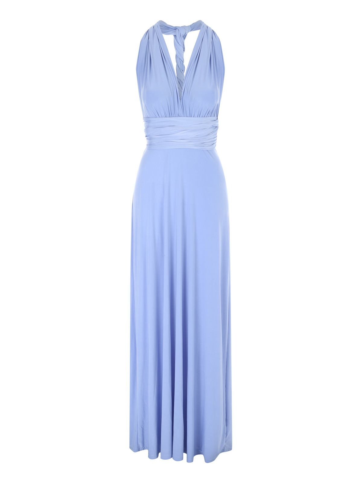 Jane Norman Multiway Maxi Dress, Blue
