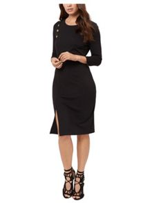 Jane Norman Button Detail Dress