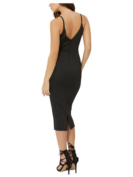 Jane Norman Panneled Slip Dress