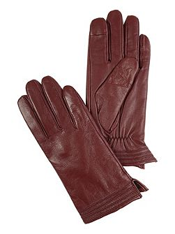 Pintuck Gloves