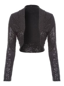 Jane Norman Sequin Shrug