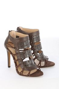 Jane Norman Panelled Ankle Heel
