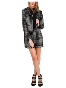 Jane Norman Assorted Button Through Tweed Jacket