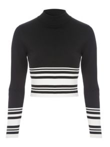 Jane Norman Co-Ord Long Sleeve Jumper Style Top
