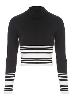 Co-Ord Long Sleeve Jumper Style Top