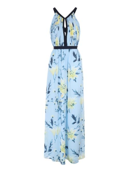 Jane Norman Floral Printed Maxi Dress