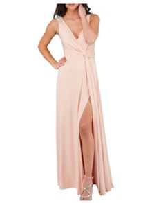Jane Norman Slinky Knot Maxi Dress