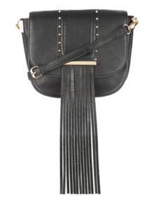 Jane Norman Across Body Fringe/Tassel Bag