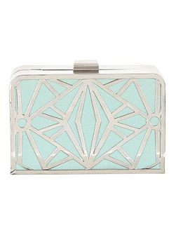 Cut Out Box Clutch Bag