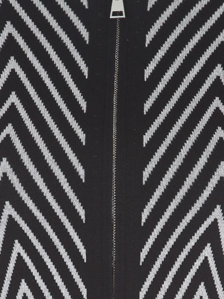 Jane Norman Chevron Zip Co-Ord Top