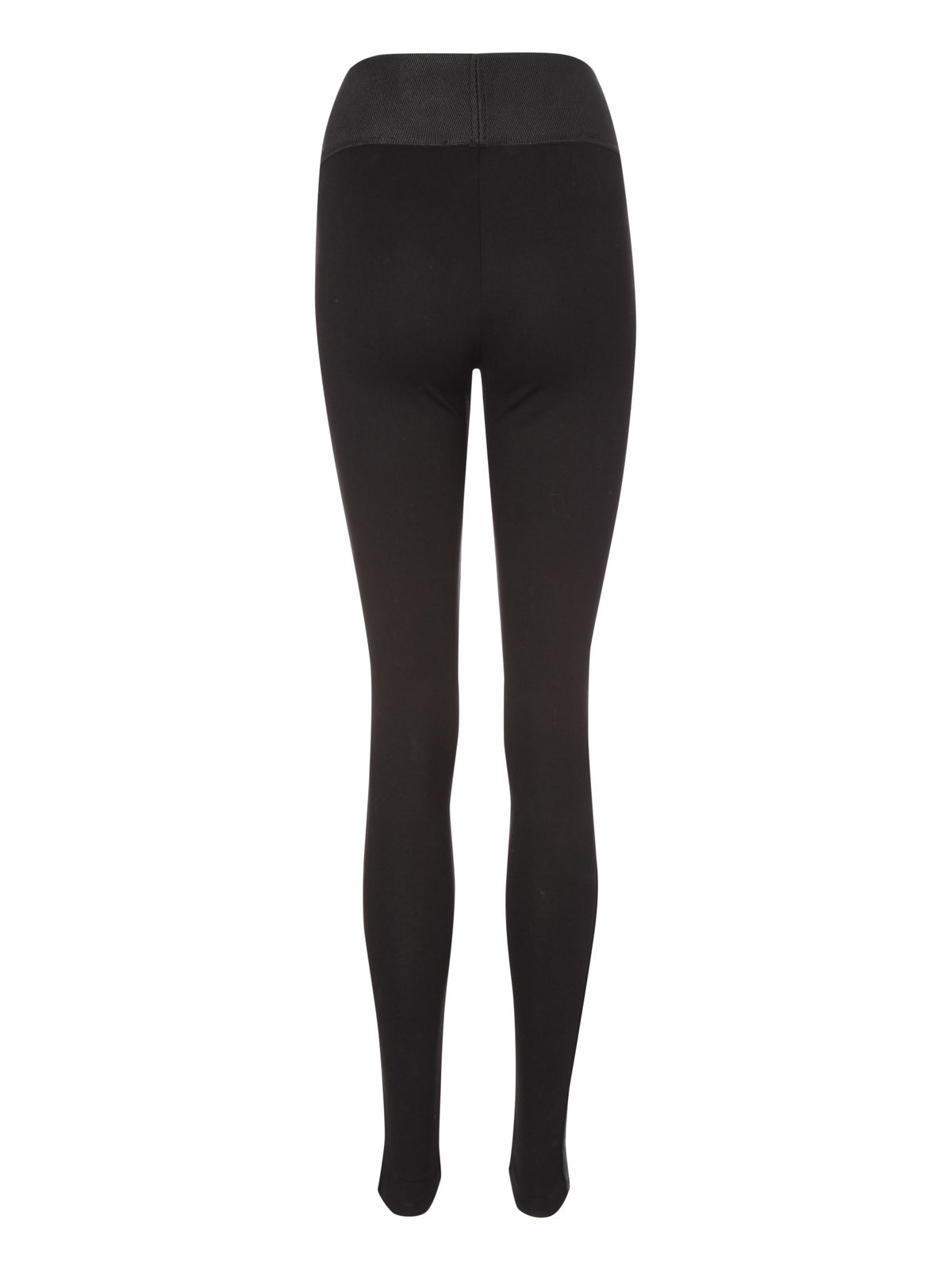 Pu side strip leggings