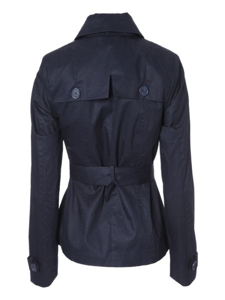 Jane Norman Belted long sleeve casual trench coat