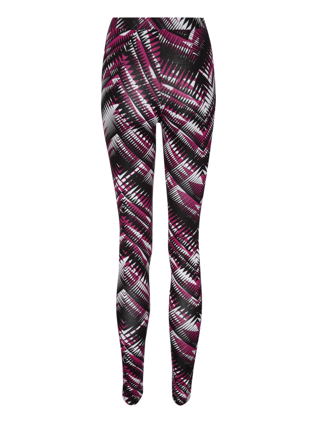 Tribal print monochrome leggings