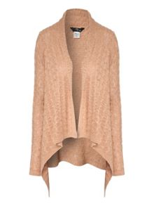 Cable Waterfall Front Knitted Cardigan