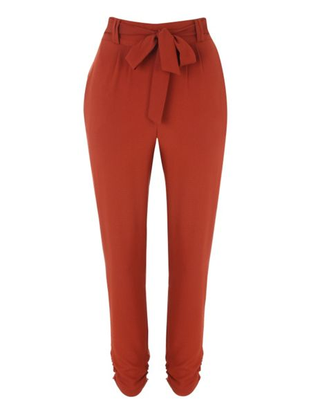 Jane Norman Ruched Cuff Jogger