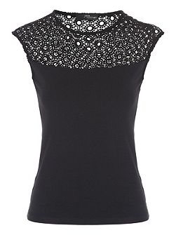 Shell Lace Top