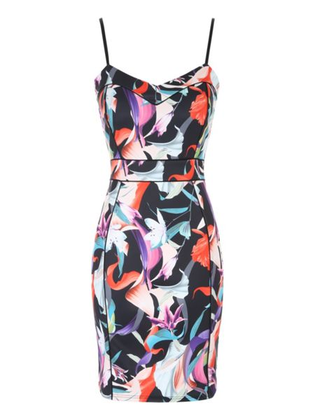 Jane Norman Printed Bodycon Dress