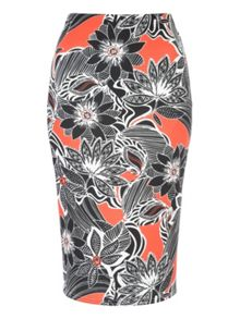 Jane Norman Marcella Printed Co-Ord Pencil Skirt