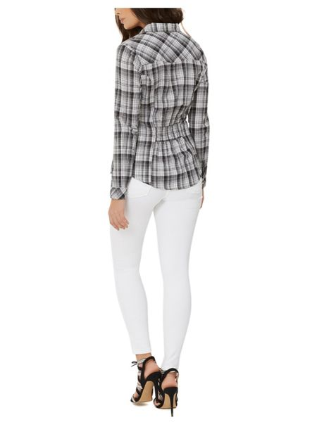 Jane Norman Grey Check Shirt