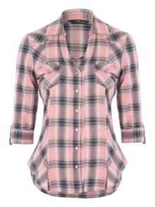 Jane Norman Check Shirt