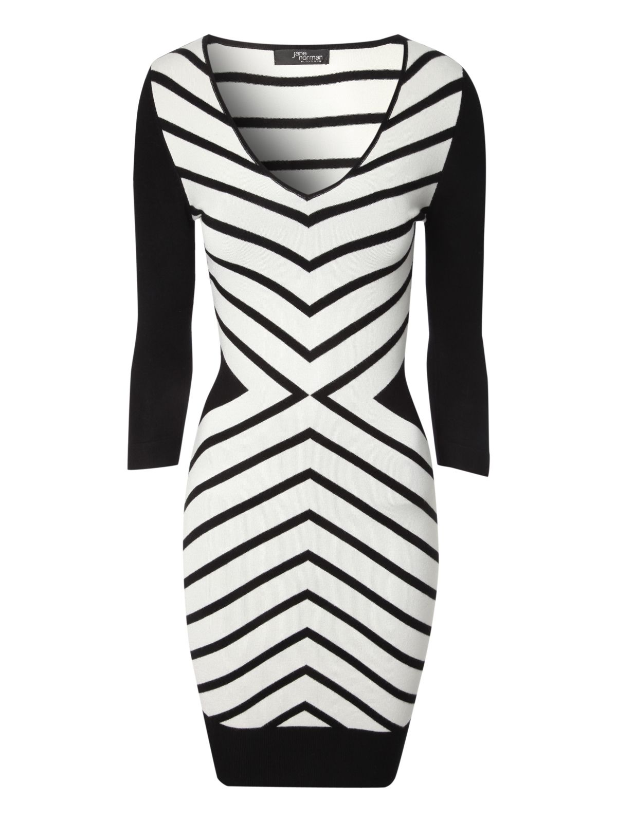 Chevron Jumper Dress
